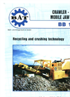Crawler BB 120 T Mobile Jaw Crusher Brochure