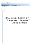 Statute BalticNet-PlasmaTec (english) Brochure