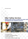 Ciba® Safety Services Brochure (PDF 296 KB)