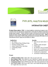 EnviroPro - Model PVH - Liquid Additive Containing Inorganic And Organic Nutrients Brochure
