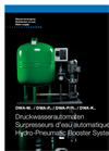 Model DWA-M - Hydro-Pneumatic Booster Systems Brochure