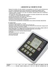 Model CPI-505 - Laboratory Ph / Ion Meter Brochure