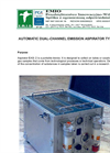 E.M.I.O - Model EAS-2 - Automatic Emission Aspirator Brochure