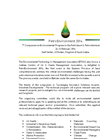 PetroEnvironment 2014 Call for Paper