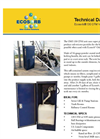 Ecosorb - Model 130 CFM - Vapor Phase Unit for Odor Neutralizers Technical Datasheet