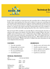 Ecosorb - Model 505G/606G - Broad Spectrum Odor Neutralizers Technical Datasheet