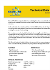 Ecosorb - Model 1200A - Liquid Additive for Odor Control Technical Datasheet