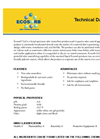 Ecosorb - Model Gel - Broad Spectrum Odor Neutralizer Technical Datasheet
