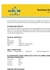 Ecosorb SprayGel Broad Spectrum Odor Neutralizer Technical Data Sheet
