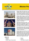 Bitumen Products Applications Brochure