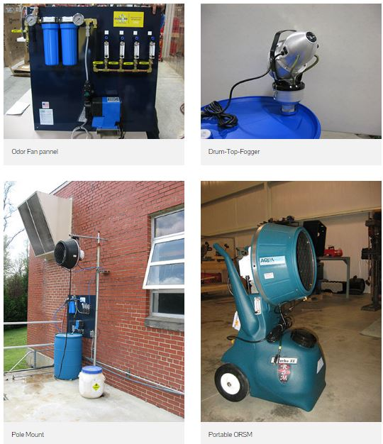 Ecosorb - Delivery Systems - Odor Eliminator Dispersed by