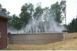 Odor control for wastewater treatment processes