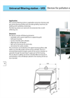 Universal Filtering Station — UES Brochure