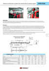 Exhaust Extraction System For Vertical Stack Exhaust Pipes — OVER-SSAK Brochure