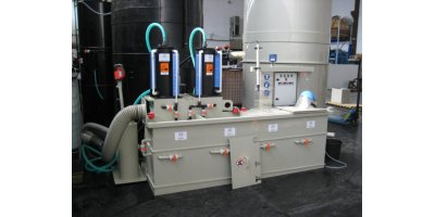 Acid Finishing and Strengthening System for Speciality Glass