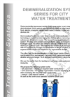 Demineralization System Brochure