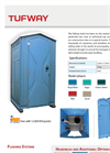Tufway - Portable Toilets Brochure
