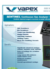 Vapex Sentinel Gas Analyzer-Monitor Brochure