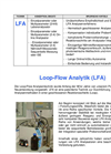 Loop Flow Analysis System (LFA) Brochure