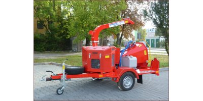 Model Skorpion 120 SD Series - Mobile Disc Chipper