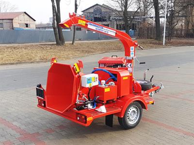 Model Skorpion 160 SD Series - Mobile Disc Chipper