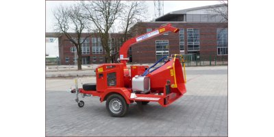 Model Skorpion 120 S Series - Mobile Disc Chipper