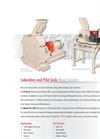 Pilot and Laboratory Scale Hammer Mill Product - Brochure