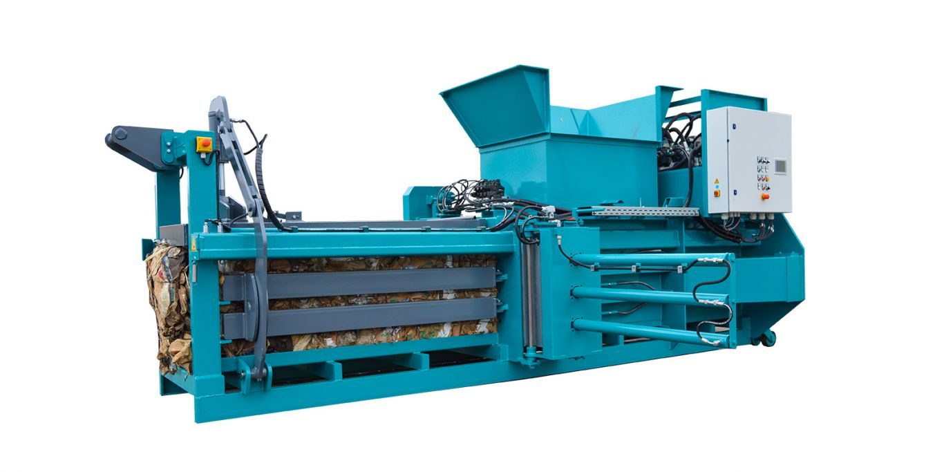 Acomat - Model 400 H3 - Fully Automatic Horizontal Channel Baling Presses System