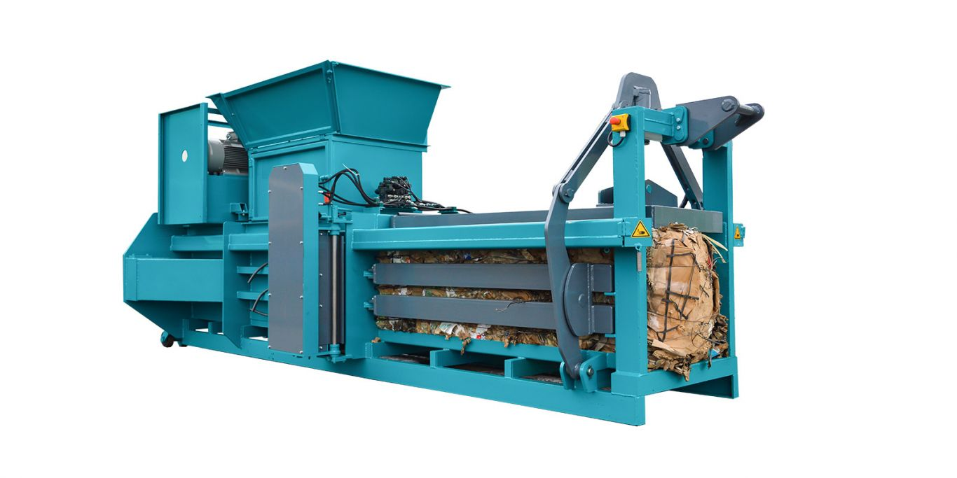 Fully Automatic Horizontal Channel Baling Presses System-2