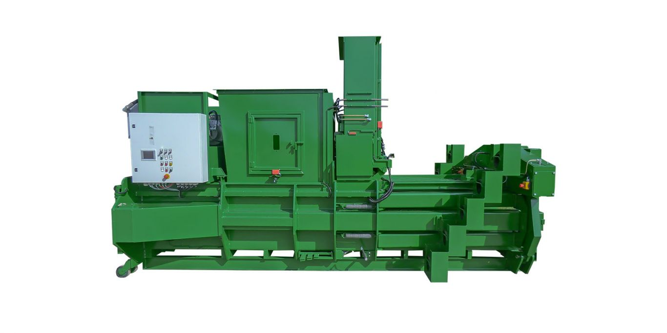 Albamat - Model 500 V5 - Fully Automatic Vertical Channel Baling Presses System