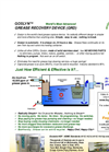 Goslyn - Grease Recovery Device – Brochure