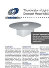 Model 6500 - Thunderstorm Detector Brochure