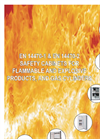 EN 14470-1 & EN 14470-2 Safety Cabinets for Flammable and Explosives Products, and Gas Cylinders Catalogue