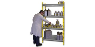 Model RRA404 - Safety Shelving Steel - Element Starting Depth 390 mm