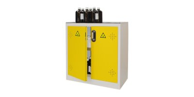 EcoSafe - Model AZ110 - Safety Cabinet Doors Yellow - 155 L