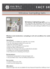 Van Walt - Window Sampling System Datasheet