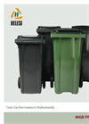 MGB Pro-Series 2-Wheel Waste Containers Brochure