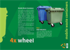 Model MGB 400/500 lt - 4 Wheeled Mobile Waste Containers Brochure