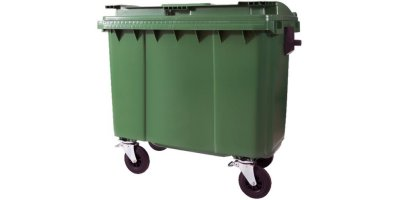 Helesi - Model 660ltr - 4 Wheeled Containers