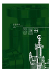 Model SR/SA Series - High Pressure Control Valves Brochure