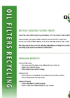 Oil Filter Recycled Service – Brochure