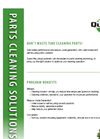 Part Washers Recycled Service – Brochure