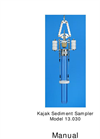 Kajak Sediment Sampler Model 13.030 Manual
