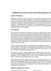 ADAM - Indoor Air Quality and Analytical Data Management Software- Brochure