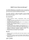 Human Resource Management Software- Brochure