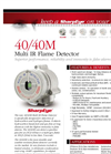 SharpEye - Model 40/40M Multi IR - Flame Detector - Brochure