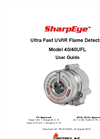 SharpEye - Model 40/40UFL Ultra Fast UV/IR - High-Speed Optical Flame Detector- Manual