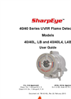 SharpEye - Model 40/40L4-L4B UV/IR - Flame Detector- Manual