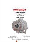 SharpEye - Model 40/40R - Single IR - Flame Detector - Manual