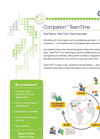 Comparion TeamTime - Web Based, Real Time Focused Collaboration Software Brochure
